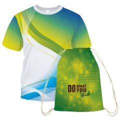 Drawstring Bag and T-Shirt