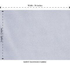 Shinny Banner Fabric