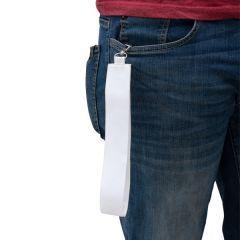 1.Fabric Loop  Keychain