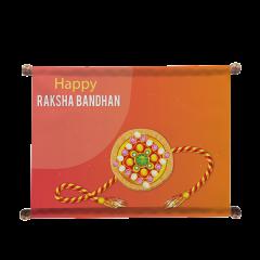 Personalised Rakhi And Scroll