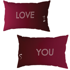 Couple Pillow Cover