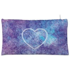 Purple heart space Cosmetic Pouch