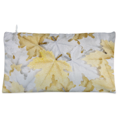 Golden & Silver leaves Cosmetic Pouch