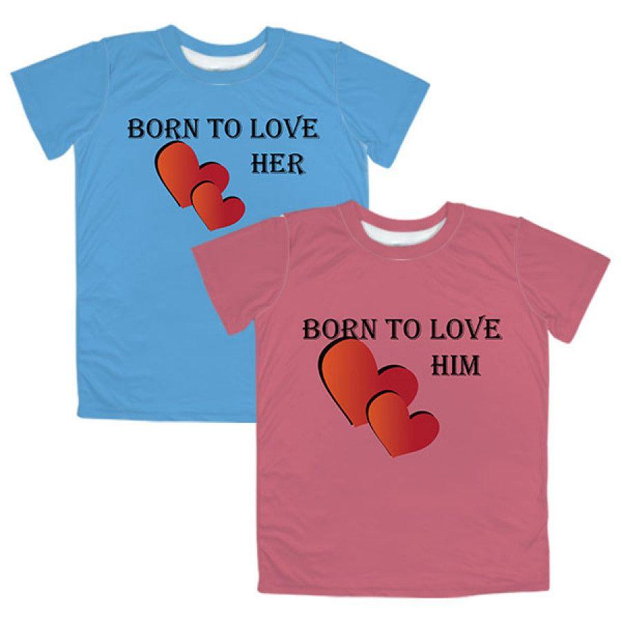 Customized Couple TShirts